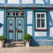 German Half-timbered house - Stock Photo