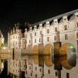 The romantic Chenonceau castle - Stock Photo