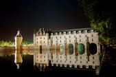 The romantic Chenonceau castle — Stock Photo