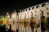 The romantic Chenonceau castle — Stock Photo