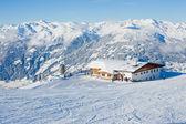 горнолыжный курорт в австрия — Стоковое фото