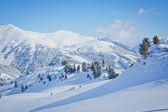 Skidanläggningen i österrike — Stockfoto