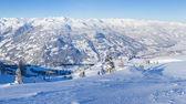 Avusturya kayak tesisi — Stok fotoğraf