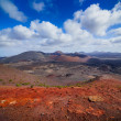 Mountains of fire,Timanfaya — 图库照片