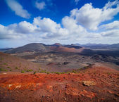 Mountains of fire,Timanfaya — Foto Stock