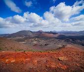 Mountains of fire,Timanfaya — Stock Photo