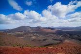 Mountains of fire, Timanfaya — Stock Photo