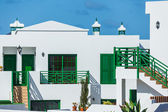 Summer apartments in Lanzarote — Stock Photo