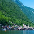 Beautiful summer Alpine Hallstatt Town — Stock Photo #9112123