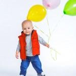 Cute funny little boy. — Stock Photo