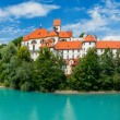 Castle in Bavarian Town Fuessen — Stock Photo