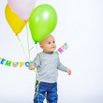 First birthday — Stock Photo