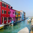 Colorful houses Burano. Italy — Stock Photo #9469823