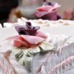 gâteau blanc — Photo
