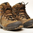 Hiking boots — Stock Photo #10631426