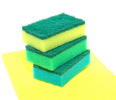 Sponges for washing of ware — Stock Photo