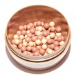 Blush balls — Stock Photo