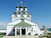 Cathedral on territory Reverently-Bogoyavlenskogo male priory in village Mstera — Stock Photo