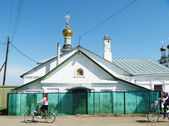 Vladimirskaya church in village Mstera — ストック写真