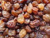 Natural background from raisins — Stock Photo