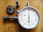 измерительный инструмент тахометр — Стоковое фото