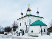 Hristo-rozhdestvenskiy kathedraal in de stad kovrove — Stockfoto