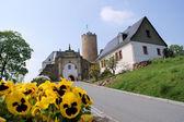 Замок scharfenstein, рудных — Стоковое фото