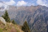 Mountain tour to the Spronser Lakes, South Tyrol — Stock Photo