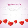 Stock Vector: Valentine's day background