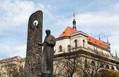 Monument of poet Taras Shevchenko — Stock Photo