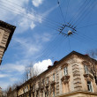 Street in Lviv — Stock Photo