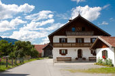 Typical Bavarian house — Stock Photo