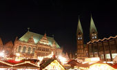 Weihnachtsmärkt (Christmas market) in Bremen — Stockfoto