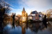 голландский замок в бокстеле — Стоковое фото