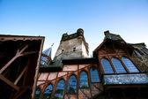 Fragmento do castelo em cochem — Foto Stock