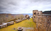 Old ruins on the mountain top — Stock Photo