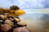 Mar con larga exposición — Foto de Stock