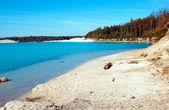 Découvre sur le lac de la grande lavande — Photo