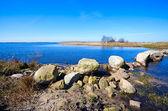 Ciel et lac bleu — Photo