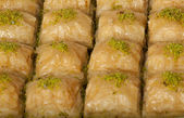 Baklava, Turkish dessert — Stock Photo