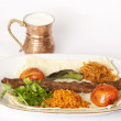 Turkish traditional kebab - Foto Stock