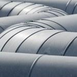 Pipeline tubes — Stock Photo