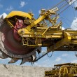 Coal mine excavator - Stock Photo