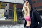 Kararlı fitness kadın — Stok fotoğraf