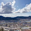 View over Bergen, Norway — Stock Photo #10066709