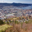 View over Bergen, Norway — Stock Photo