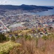 Stock Photo: View over Bergen, Norway