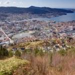 View over Bergen, Norway — Stock Photo