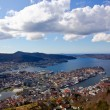 View over Bergen — Stock Photo