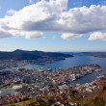 View over Bergen — Stock Photo